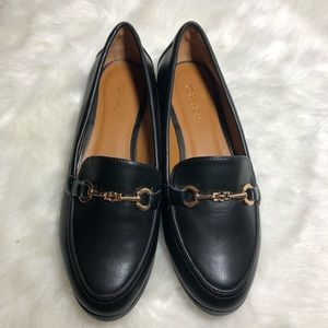Top shop Buckle Leather Loafers